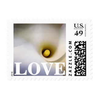 Personalizable Calla Lily Love Postage Stamps