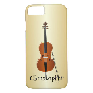 Personalized Cello Design iPhone 7 Case