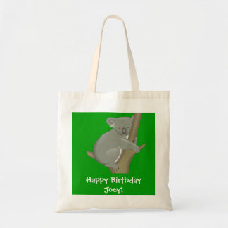 Personalized Child's Koala Bag