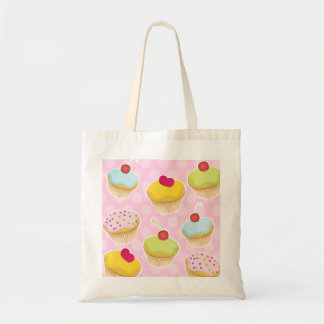 Personalized Cupcakes Budget Tote Bag