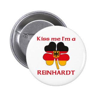 Personalized German Kiss Me I'm Reinhardt 6 Cm Round Badge