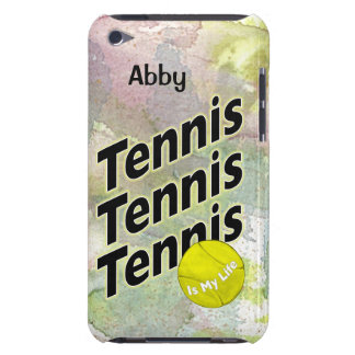 Personalized iPod Case for Tennis