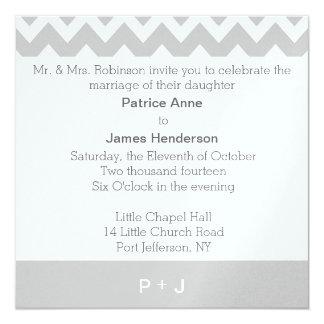 Personalized Monogram Wedding Invitations