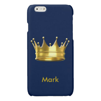 Personalized Prince Crown iPhone 6 Case iPhone 6 Plus Case