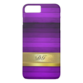 Personalized Purple Pattern iPhone 7 Plus Case