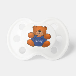 Personalized Teddy Bear Design Pacifier