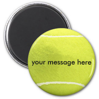 Personalized Tennis Ball Magnet