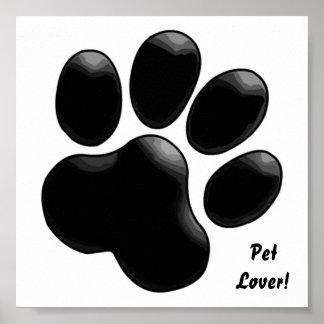 Pet Lover! Paw Print