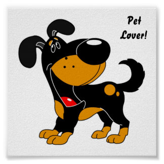 Pet Lovers! Pup Poster