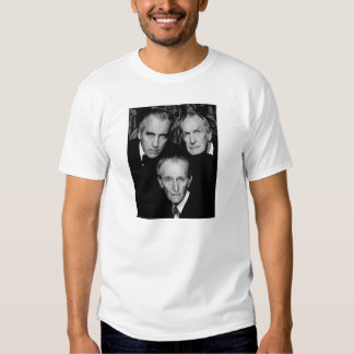 Peter Cushing, Christopher Lee and Vincent Price T Shirts