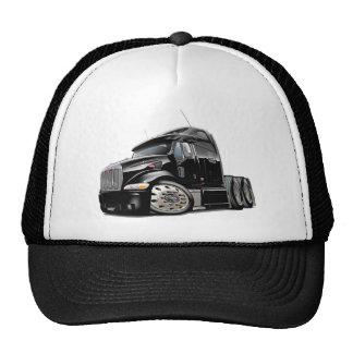 Peterbilt Black Truck Cap