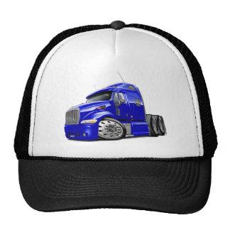 Peterbilt Blue Truck Cap