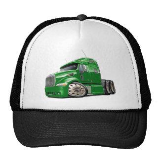 Peterbilt Green Truck Cap