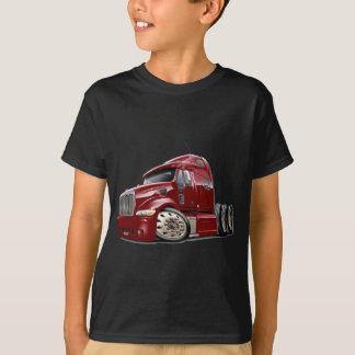 Peterbilt Maroon Truck Tshirt
