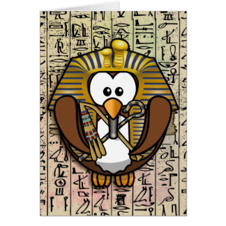 Pharaowls papershop greeting card