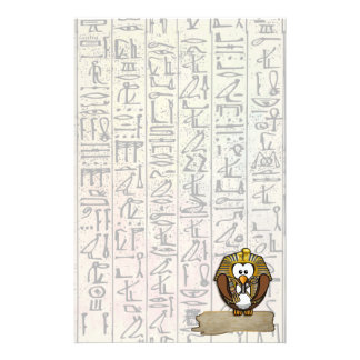 Pharaowls papershop stationery design
