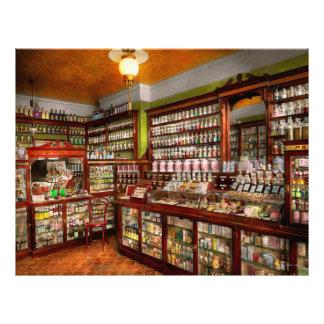 Pharmacy - The chemist shop of Mr Jones 1907 21.5 Cm X 28 Cm Flyer