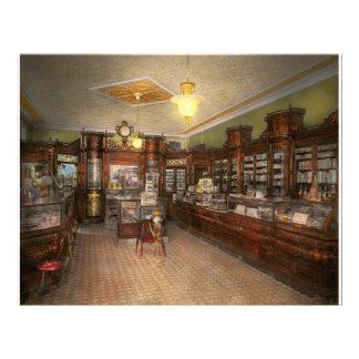 Pharmacy - Weller's Pharmacy 1915 21.5 Cm X 28 Cm Flyer