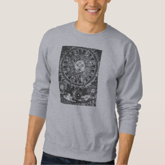 Phases of the Sun Pull Over Sweatshirts