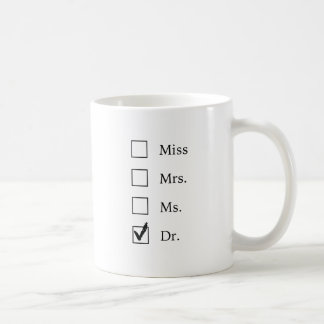 PhD gifts for women Basic White Mug
