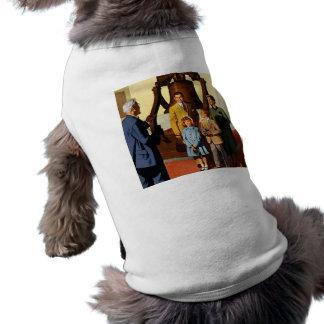 Philadelphia. Go by... Pennsylvania Railroad Sleeveless Dog Shirt