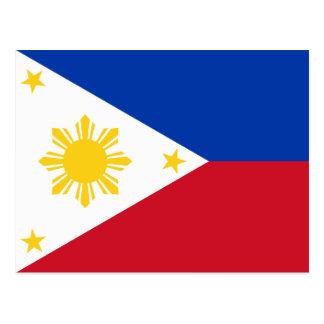 Philippines – Filipino Flag Postcard