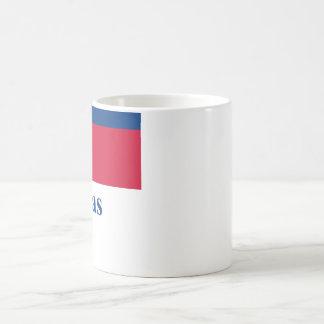 Philippines Flag with Name in Filipino Basic White Mug