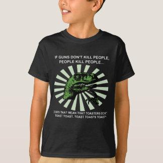 Philosoraptor Toast and Toasters Gun Control Shirt