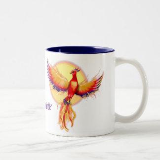 Phoenix Rising Two-Tone Mug