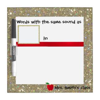 Phonics Writing Practice Dry-Erase Whiteboards
