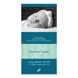 PHOTO BIRTH ANNOUNCEMENT :: happy feet 9P Picture Card