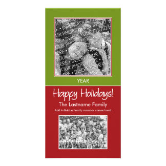 Photo Card: Happy Holidays! Custom Photo Card