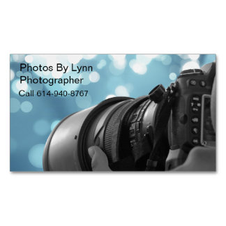 Photos By Lynn Magnetic Business Cards
