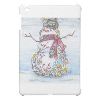 photoscape snowman iPad mini covers