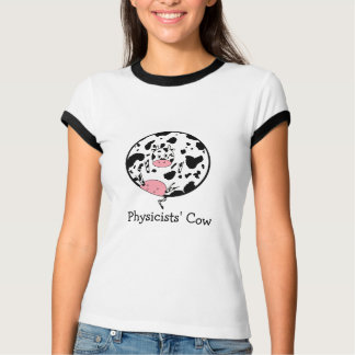 Physicists' Cow Tee Shirts
