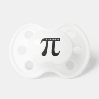 Pi Day SALE ~ March 14th Madness Baby Pacifiers