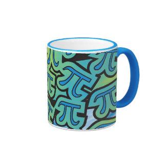 Pi Party Ringer Mug