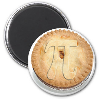 PI PIE CRUST! Cutie Pie - Celebrate Pi Day! π 6 Cm Round Magnet