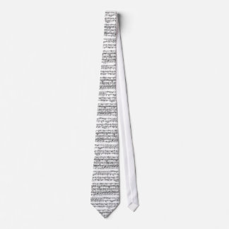 PIANO MUSIC SHEET TIE