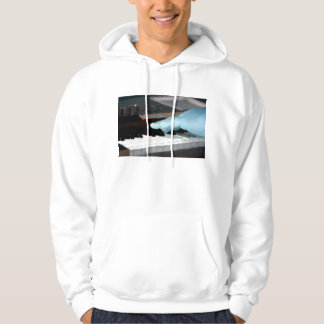 piano painterly blue electric left hand playing ke hoody
