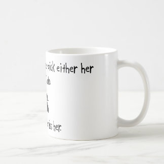 Pick Wife or Aikido Basic White Mug
