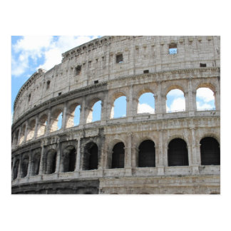 Picture of the Roman Colosseum - Colosseo Postcard