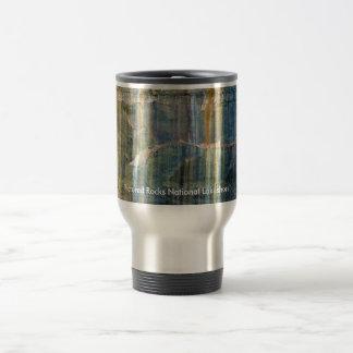 Pictured Rocks National Lakeshore Stainless Steel Travel Mug