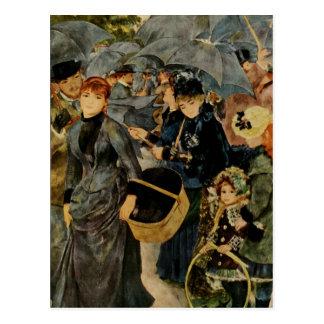 Pierre-Auguste Renoir's The Umbrellas (1883) Postcard