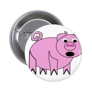 Pig copy.jpg 6 cm round badge
