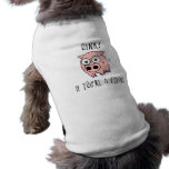 Pig Vegan Sleeveless Dog Shirt