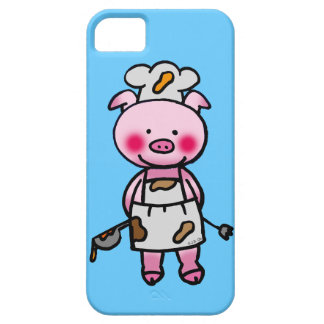 piggy chef iPhone 5 cover