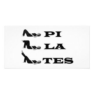 Pilates figures! picture card