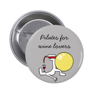 Pilates for Winelovers Grey Badge
