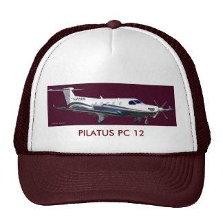 Pilatus PC-12 Portrait, PILATUS PC 12 Cap